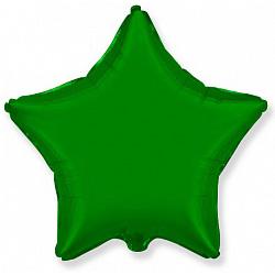 Шар звезда зеленый