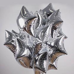Набор шаров серебряных