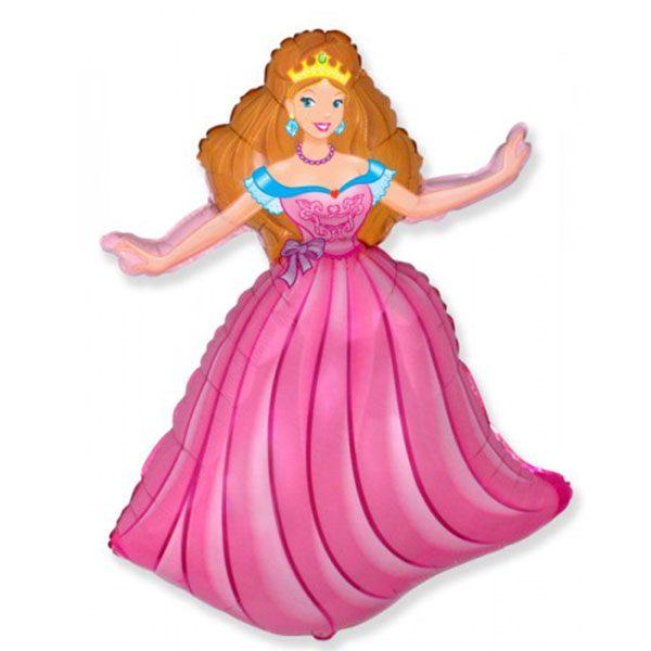 Фольгированный-шар-Принцесса