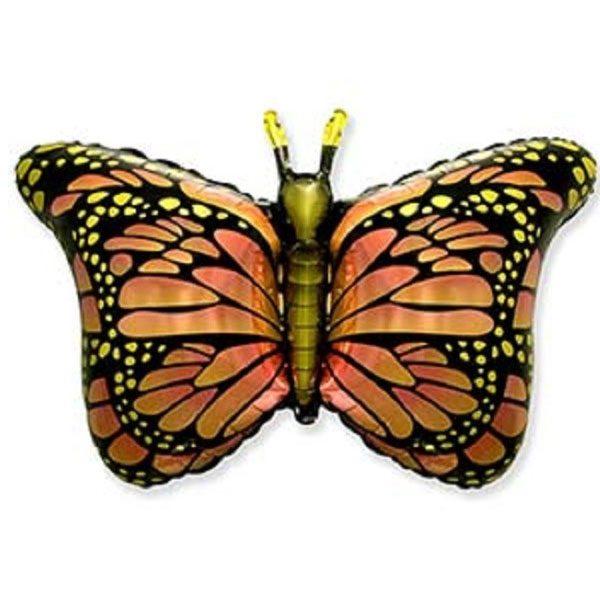 Фольгированный-шар-Бабочка-монарх