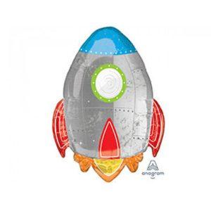 Фольгированный-шар-ракета