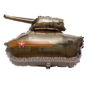 Фольгированный-шар-танк-Т34