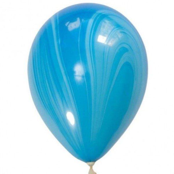 Шар-Супер-Агат,-Blue-130-руб-28см