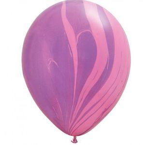 Шар-Супер-Агат,-Pink-Violet-130-руб-28см