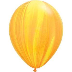 Шар-Супер-Агат,-Yellow-Orange-130-руб-28см