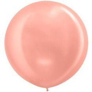 Шар-металлик-Розовое-Золото-80-90см-1000руб