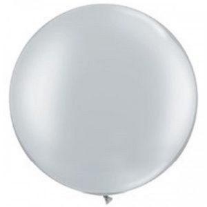 Шар-металлик-Серебро-80-90см-1000руб