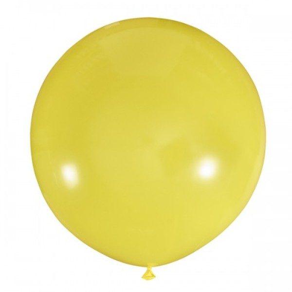 Шар-пастель-желтый-80-90см-900руб