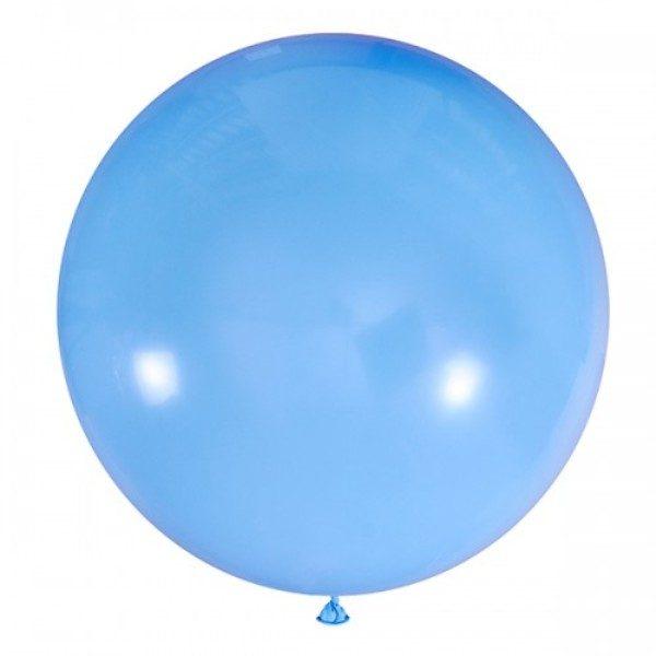 Шар-пастель-светло-голубой-80-90см-900руб