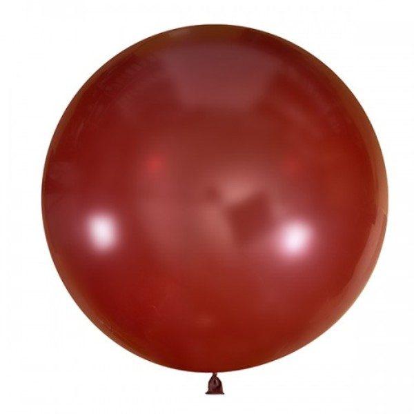 Шар-пастель-бургундия-80-90см-900руб