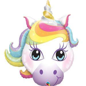 Фольгированный-шар-единорог-волшебный-голова