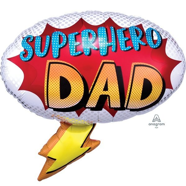 Фольгированный-шар-папа-супергерой