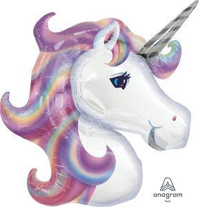 Фольгированный-шар-единорог-фиолетовый-голова