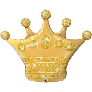 Фольгированный-шар-корона