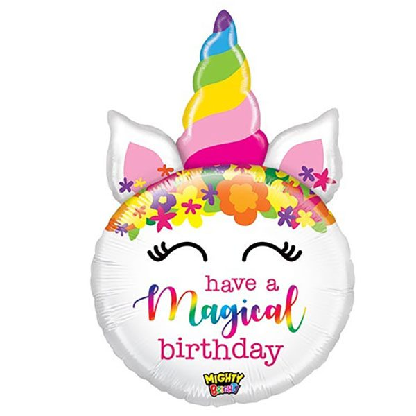 Фольгированный-шар-круг-Единорог-have-magical-birthday-82см