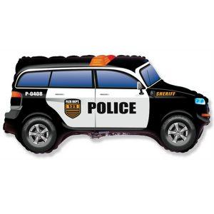 Фольгированный-шар-машина-полицейская