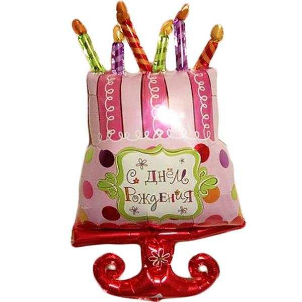 Фольгированный-шар-торт