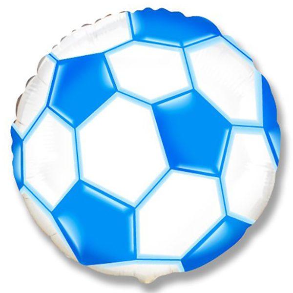 Фольгированный-шар-футбольный-мяч-синий