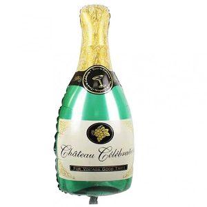 Фольгированный-шар-шампанское