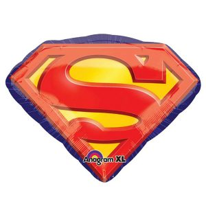 Фольгированный-шар-эмблема-супермен