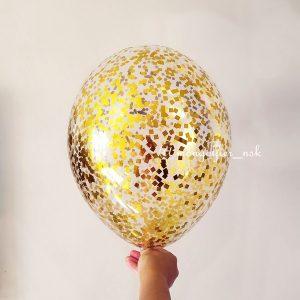 Шар-с-конфетти-мелкий-квадрат-золото