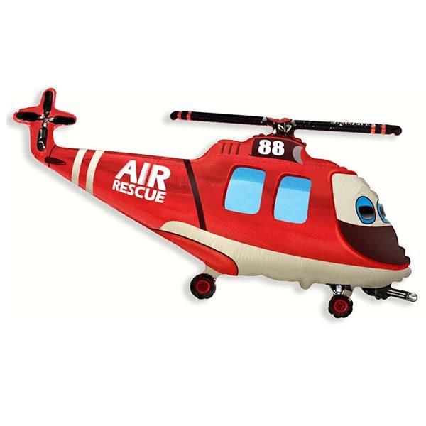 Фольгированный-шар-вертолет-спасатель