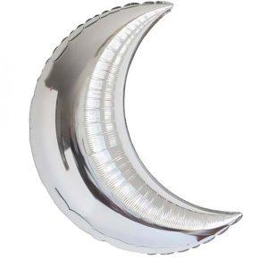 Фольгированный-шар-полумесяц-89-см-серебро