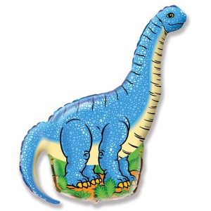 Фольгированный-шар-динозавр-диплодок