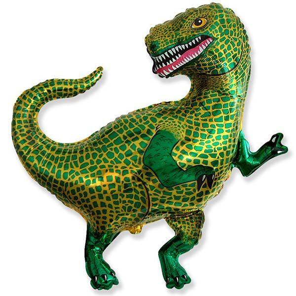 Фольгированный-шар-динозавр-тираннозавр
