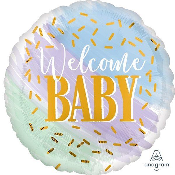 Фольгированный-шар-добро-пожаловать-малыш
