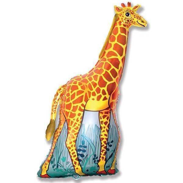 Фольгированный-шар-жираф