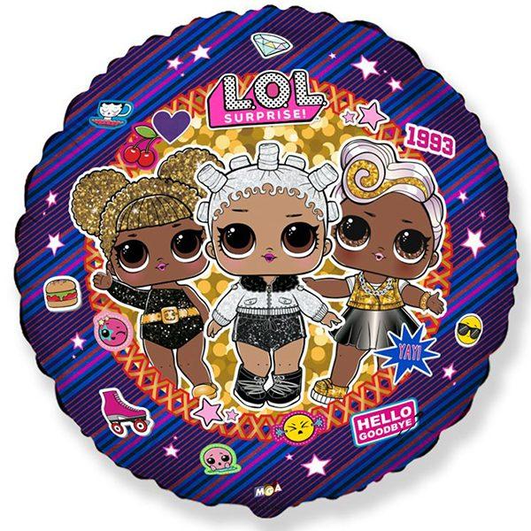 Фольгированный-шар-круг-куклы-лол