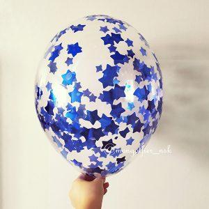 Шар-с-конфетти-синие-звезды