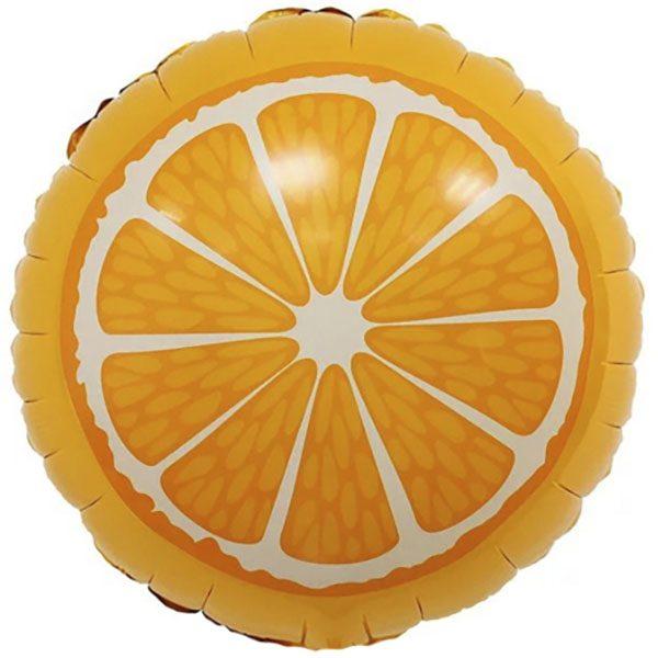 Воздушный-шар-круг-апельсин