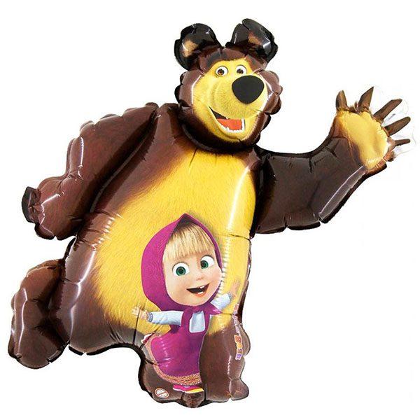Фольгированный-шар-Маша-и-медведь