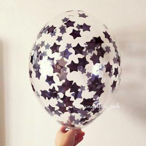 Шар-с-черным-конфетти-звезды